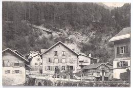ARASCHGEN: Dorfpassage, Detailansicht 1930 - GR Grisons