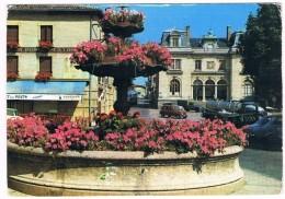 MORNANT  69  Place De La Liberte . La Poste .1987 - Other Municipalities