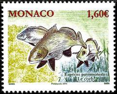 Monaco - 2016 - National Species - Fish - Brown Meagre - Mint Stamp - Monaco