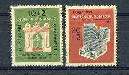 Allemagne  -  RFA  :  Yv  57-58  ** - [7] Federal Republic