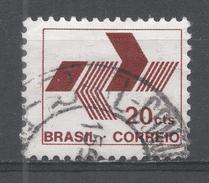 Brazil 1972, Scott #1216 Post Office Emblem (U) - Brésil