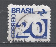 Brazil 1972, Scott #1251 Numeral (20) And Post Ofiice Emblem (U) - Brésil