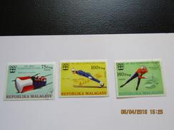 JO144     Olympiques   Innsbruck  Olympic Games  Madagascar - Hiver 1976: Innsbruck