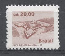Brazil 1987. Scott #2069 (MNH) Principe Da Beiro, Fort, Mato Dentro - Brésil