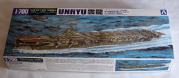 Aircraft Carrier Unryu  1/700 ( Aoshima ) - Boats