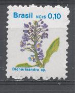 Brazil 1989, Scott #2176 Indigenous Flora: Dichorisandra (MNH) - Brésil
