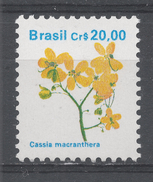Brazil 1990. Scott #2263 (MNH) Cassia Macranthera, Fleurs, Flowers - Brésil