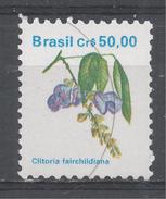 Brazil 1989. Scott #2264 (MNH) Clitoria Fairchilddiana, Fleur, Flower - Brésil