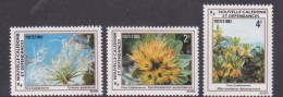 New Caledonia SG 694-96 1983 Flowers MNH - Nouvelle-Calédonie