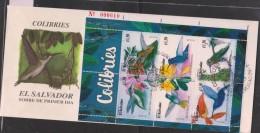 O) 1998EL SALVADOR, TROCHILINAE - NECTIVORO, HUMMING BIRD, POLLINATION ORNITHOPHILOUS, FDC XF - El Salvador