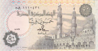 EGYPT 50 PT 1987 P-58b MWR-RD7 SIG/S.HAMED #18 REPLACEMENT 300 TST #1 UNC */* - Egypte