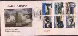 O) 1997 EL SALVADOR, OLD CARS  1936 TO 1956- ASSOCIATION SALVADOREÑA - El Salvador
