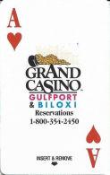 Grand Casino Room Key Card - Gulfport & Biloxi, MS - Hotel Keycards