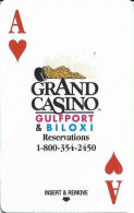 Grand Casino Room Key Card - Gulfport & Biloxi, MS