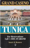 Grand Casino Room Key Card - Tunica, MS - Hotel Keycards