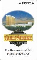 Gold Strike Casino Room Key Card - Tunica, MS