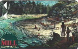 Mill Casino Room Key Card - North Bend, OR