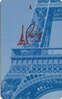 Paris Casino Room Key Card - Las Vegas, NV - Cartes D'hotel