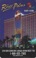 River Palms Casino Room Key Card - Laughlin, NV - Cartes D'hotel