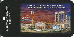 Horseshoe Casino Hotel Room Key Card