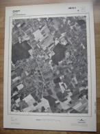 GRAND PHOTO VUE AERIENNE 66 Cm X 48 Cm De 1979  OHEY OHEY - Topographische Karten