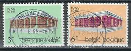 COB  1489/1490  (o)  - (Lot 59) - Belgium