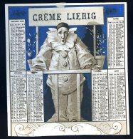Liebig Chromos - Crème Liebig Calendrier 1880 -- Très Rare CHR1 - Liebig