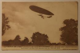 CPA Le Dupuy De Lôme Construit En Tissus Hutchinson Dans Les Ateliers Clement Bayard - DAN03 - Zeppeline