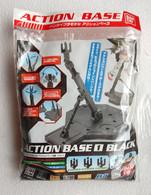"""Socle / Base """" Action Base 2 """"  Noir / Black  ( Bandai ) - SF & Robots"""