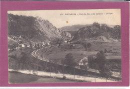 25.-  PONTARLIER .-  Le Fort De Joux Et Du Larmont  La Cluse - Pontarlier
