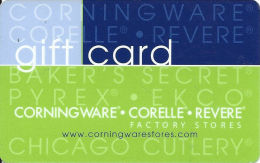 Corning Ware Stores - Factory Stores Gift Card - Gift Cards