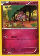 Carte Pokemon 68/124 Snubbull 70 Pv 2016 - Pokemon
