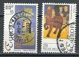 COB  2501/2502  (o)  - (Lot 87) - Belgique