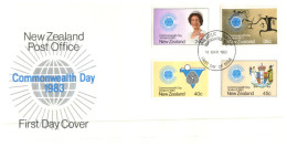(125) UK FDC Cover - 1983 - Commonwealth Day - FDC