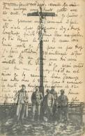 Guerre 14-18, La Stéréanerie Près D'Arras, Christ Mutilé Par Les Allemands, 5 Poilus Au Pied, Voir Correspondance - Guerre 1914-18