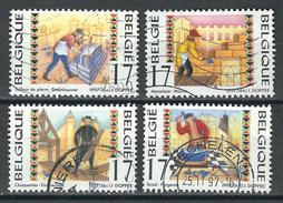 COB  2721/2724  (o)  - (Lot 101) - Belgique