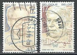 COB  2736/2737  (o)  - (Lot 101) - Belgique