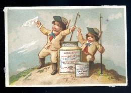 Liebig Chromos Usine Fray Bentos Uruguay  -   Enfants Avec Une Gaffe - Circa 1870 -- S42 CHR1 - Liebig