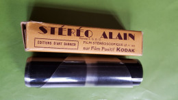 Stéréo Alain, Film Stéréoscopique 45x107, Kodak, Editions D'Art Barnier, Pic Du Midi - Visionneuses Stéréoscopiques