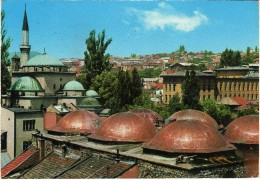 Yugoslavia.Bosnia And Herzegovina.Sarajevo Mosque.Islam.USED POSTCARD - Islam