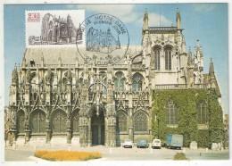 CM - Carte Maximum Card - 1981 - YT 2161 - Eglise Notre-Dame - Louviers - 1980-89