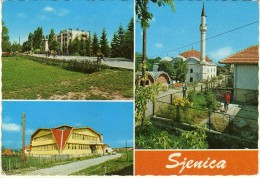 Yugoslavia.Serbia. Sjenica Mosque.Islam.USED POSTCARD - Islam