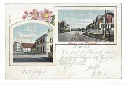 14722 - Gruss Aus Oberwil + Cachet Linéaire Oberwil Baselland - BL Bâle-Campagne