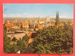 Allemagne - Bielefeld - Blick Von Der Sparrenburg Auf Die Stadt - Jolis Timbres - 1983 - Scans Recto-verso - Bielefeld