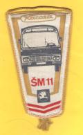 Old Sport Flag, Transport, Wimpel, Pennant - Škoda  Karosa - Automobili