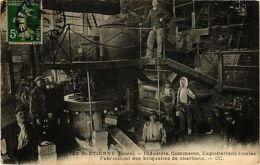 CPA SAINT-ETIENNE - Fabrication Des Briquettes De Charbons (210894) - Zonder Classificatie