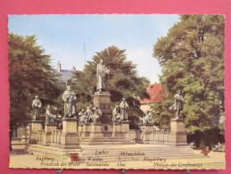 Allemagne - Nibelungenstadt Worms Am Rhein - Lutherdenkmal - Scans Recto-verso - Worms