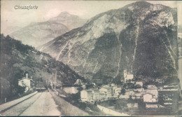 Ar331 - Chiusaforte - Belluno - 1908-treno - Udine