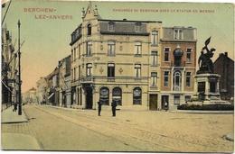 Berchem NA4: Chaussée De Berchem Avec La Statue De Mérode - Antwerpen