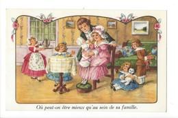 14733 -  Famille Femme Et Enfants Où Peut-on être Mieux Qu'au Sein De Sa Famille - Autres